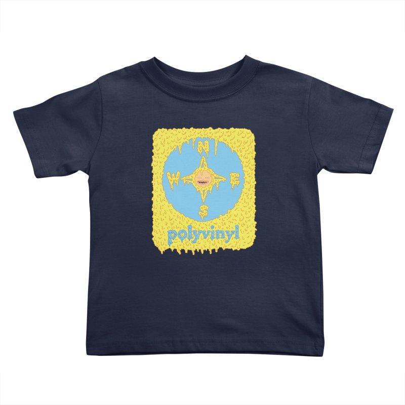 Polyvinyl x David Barnes Collaboration Kids Toddler T-Shirt by Polyvinyl Threadless Shop