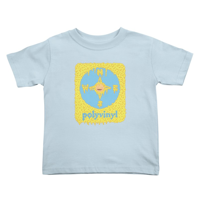 Polyvinyl x David Barnes Collaboration Kids Toddler T-Shirt by Polyvinyl Threadless Shop