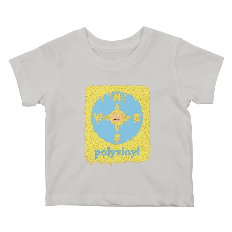 Polyvinyl x David Barnes Collaboration Kids Baby T-Shirt by Polyvinyl Threadless Shop