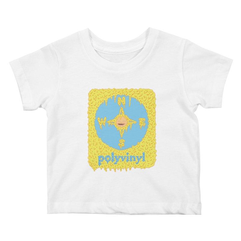 Polyvinyl x David Barnes Collaboration Kids Baby T-Shirt by Polyvinyl Threadless Shop