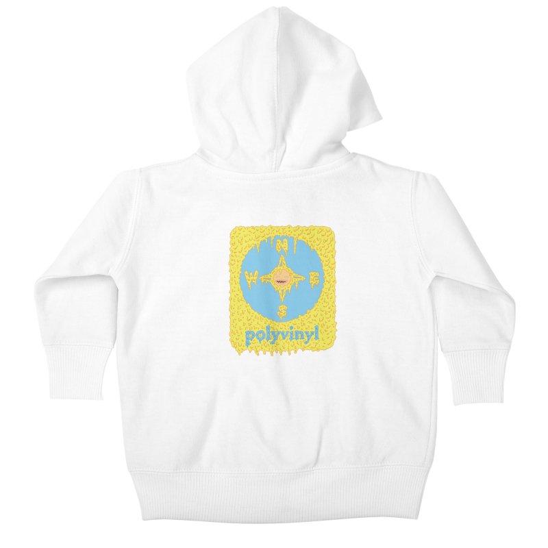 Polyvinyl x David Barnes Collaboration Kids Baby Zip-Up Hoody by Polyvinyl Threadless Shop