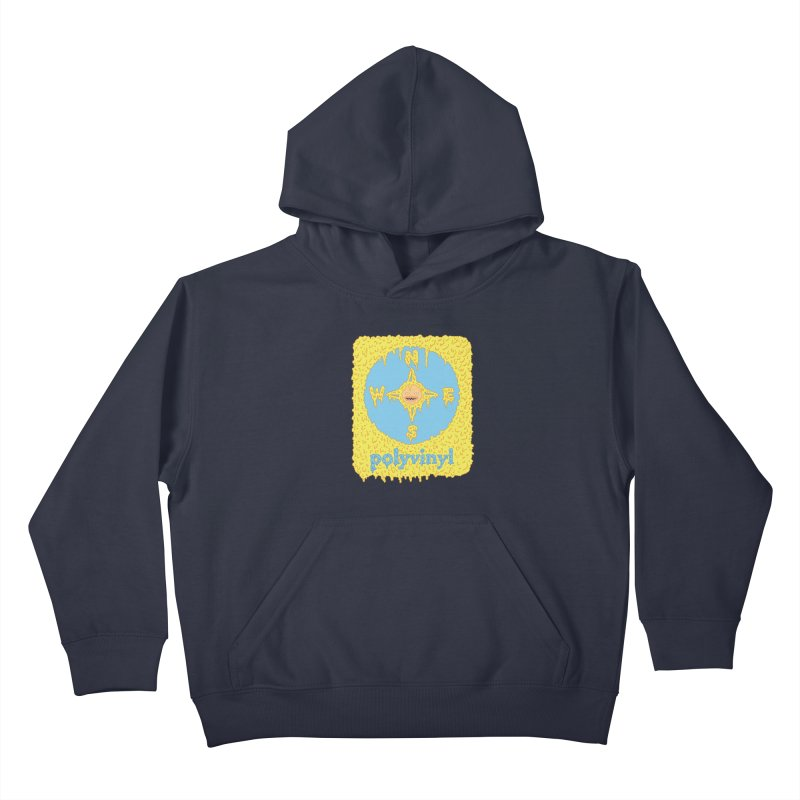 Polyvinyl x David Barnes Collaboration Kids Pullover Hoody by Polyvinyl Threadless Shop