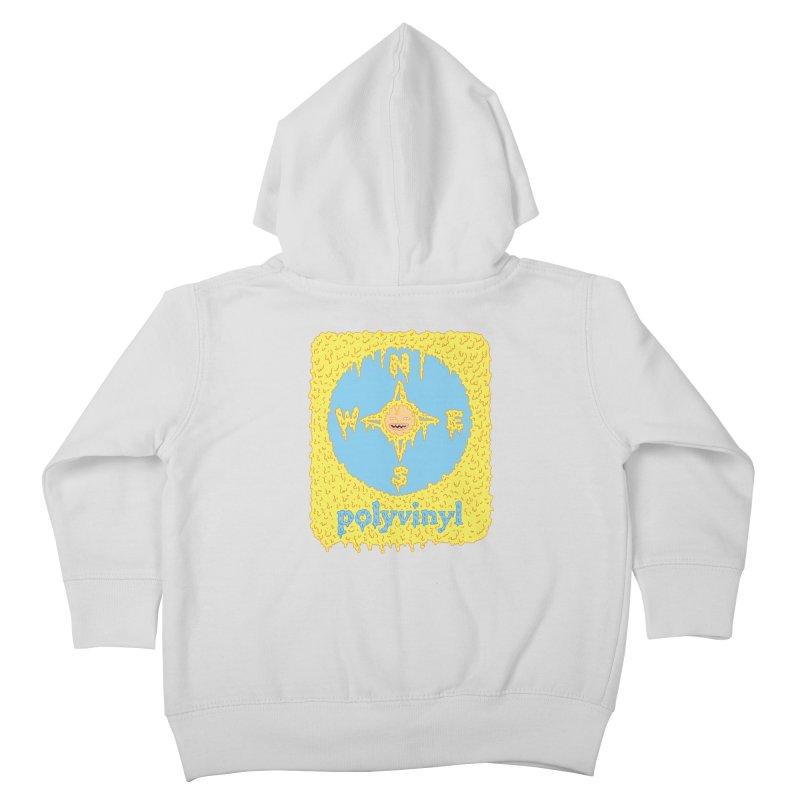 Polyvinyl x David Barnes Collaboration Kids Toddler Zip-Up Hoody by Polyvinyl Threadless Shop