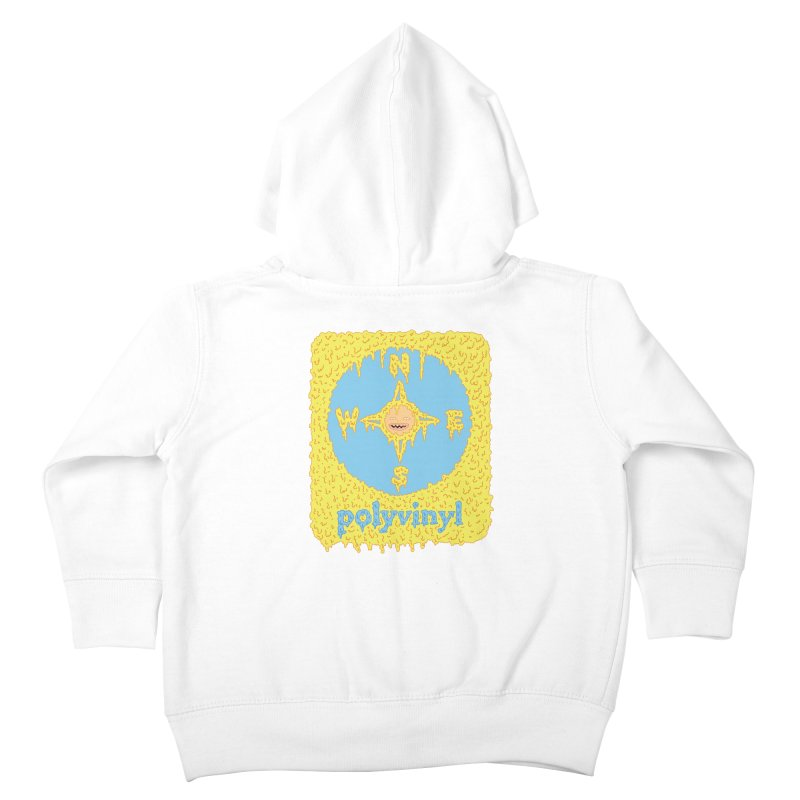Polyvinyl x David Barnes Collaboration Kids Toddler Zip-Up Hoody by Polyvinyl Threadless Shop