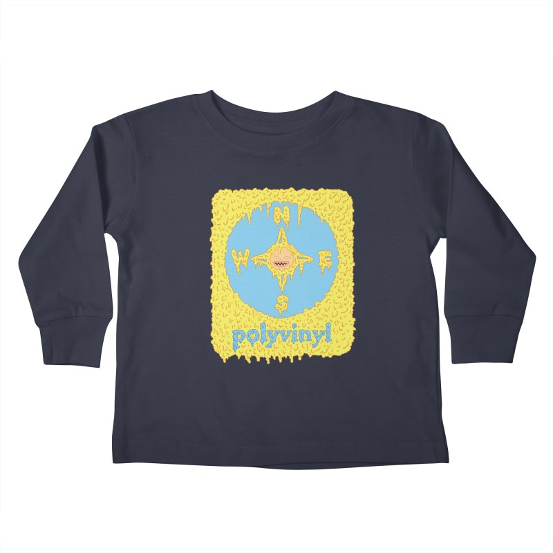 Polyvinyl x David Barnes Collaboration Kids Toddler Longsleeve T-Shirt by Polyvinyl Threadless Shop