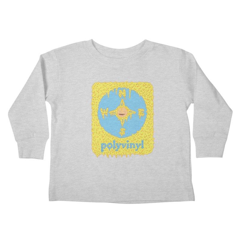 Polyvinyl x David Barnes Collaboration Kids Toddler Longsleeve T-Shirt by Polyvinyl Threadless Shop