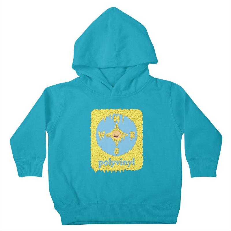 Polyvinyl x David Barnes Collaboration Kids Toddler Pullover Hoody by Polyvinyl Threadless Shop