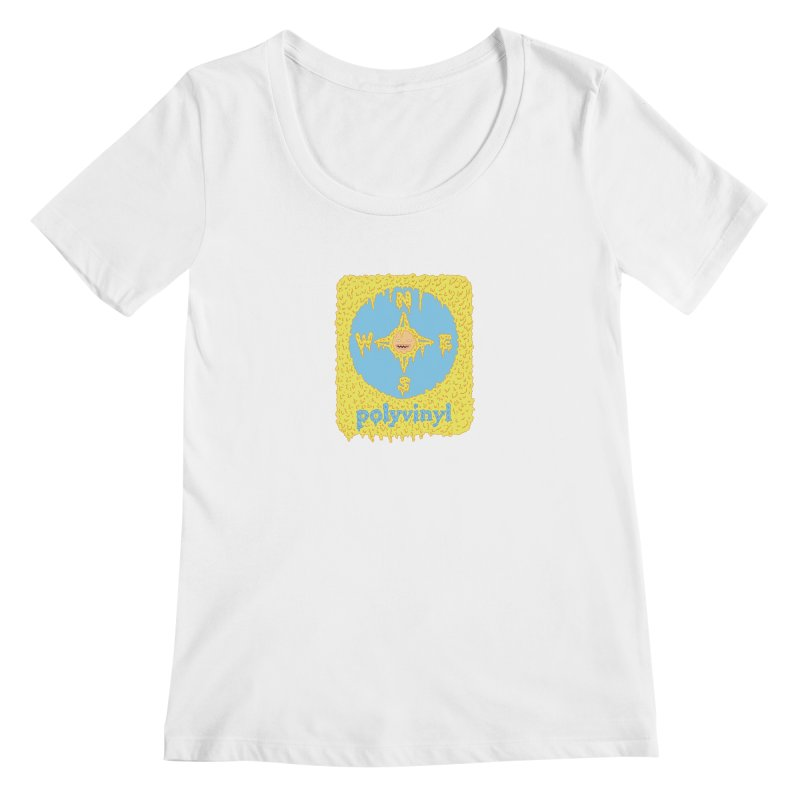 Polyvinyl x David Barnes Collaboration Women's Scoopneck by Polyvinyl Threadless Shop