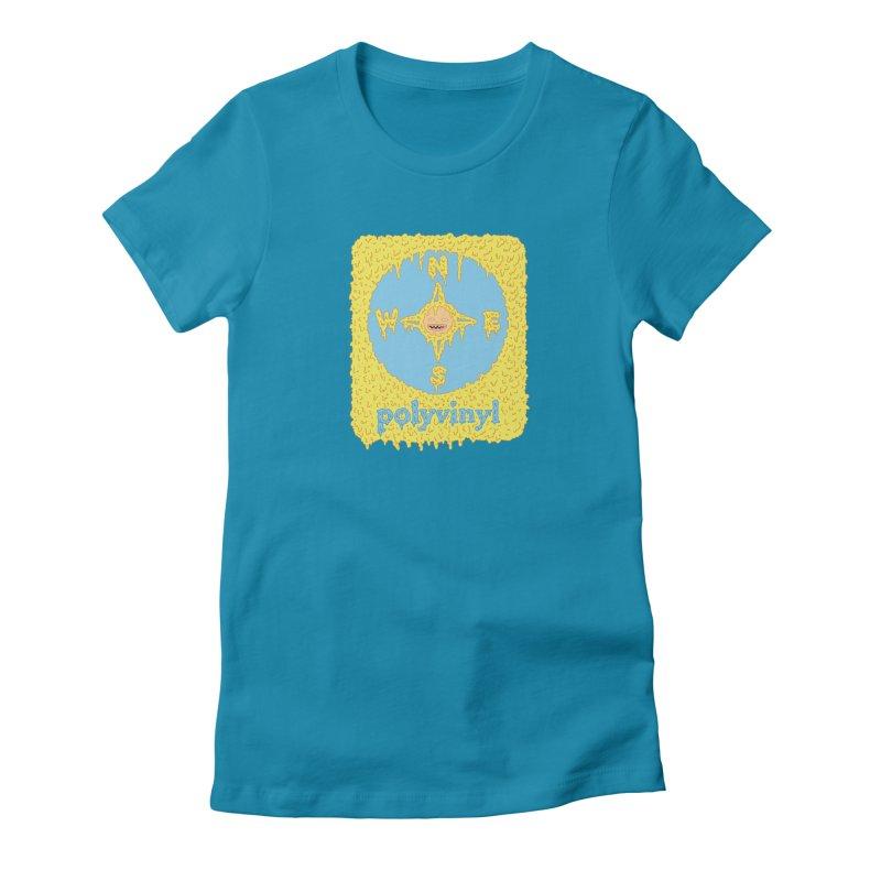 Polyvinyl x David Barnes Collaboration Women's Fitted T-Shirt by Polyvinyl Threadless Shop