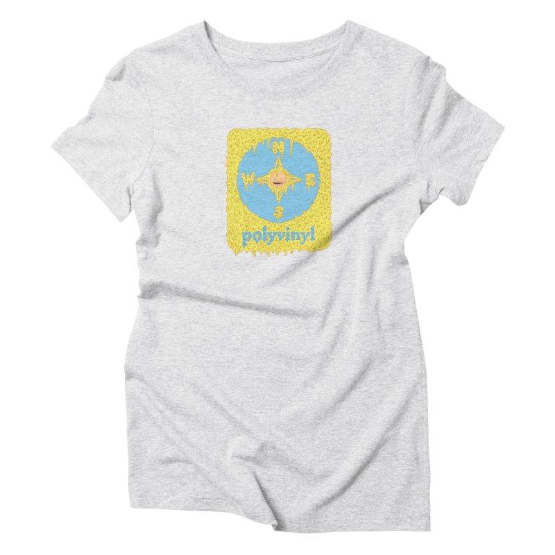 Polyvinyl x David Barnes Collaboration Women's Triblend T-shirt by Polyvinyl Threadless Shop