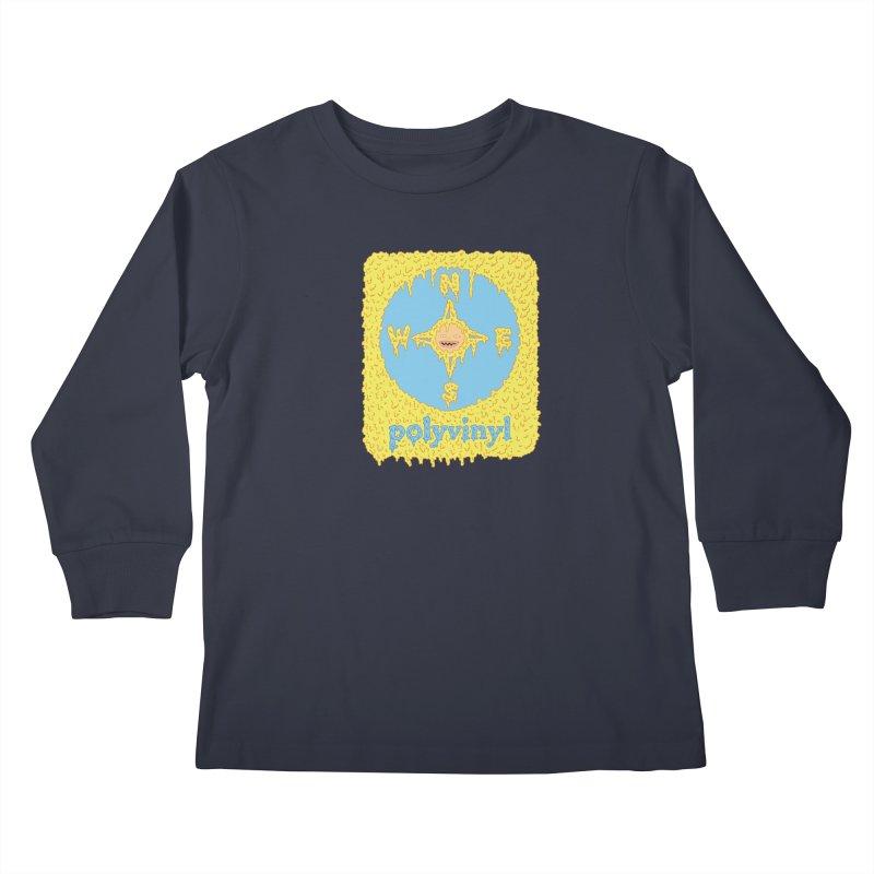 Polyvinyl x David Barnes Collaboration Kids Longsleeve T-Shirt by Polyvinyl Threadless Shop