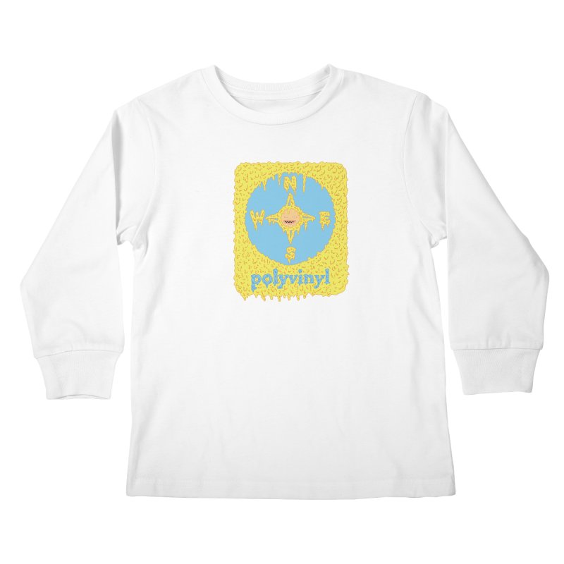 Polyvinyl x David Barnes Collaboration Kids Longsleeve T-Shirt by Polyvinyl Threadless Shop