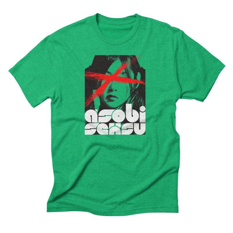Asobi Seksu - x-girl Men's Triblend T-Shirt by Polyvinyl Threadless Shop