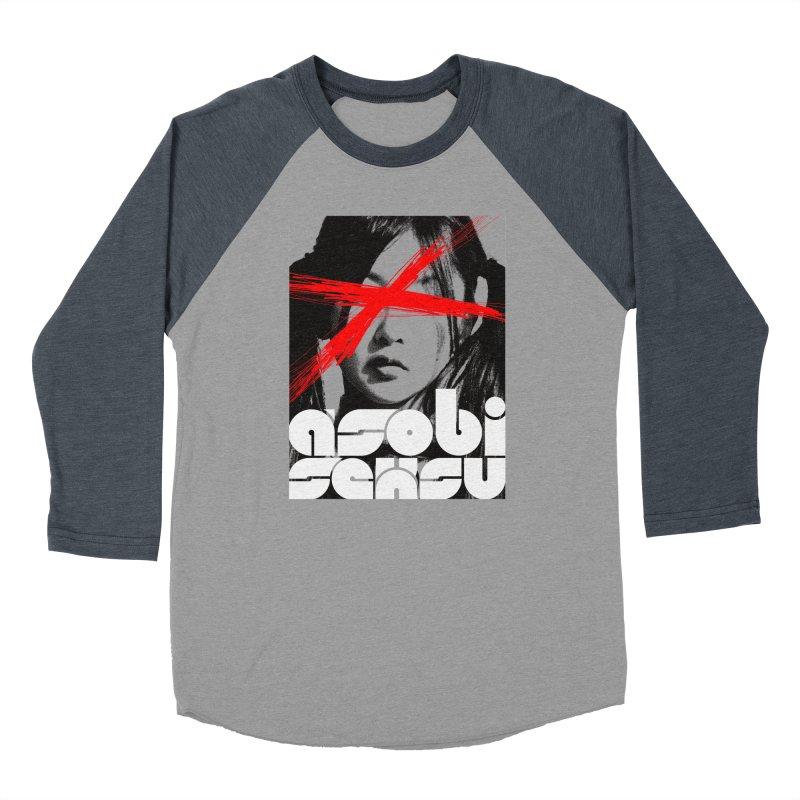 Asobi Seksu - x-girl Women's Baseball Triblend T-Shirt by Polyvinyl Threadless Shop