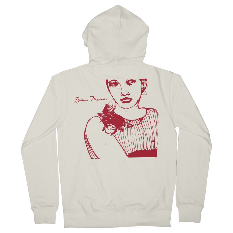 Rainer Maria - Long Knives Drawn Women's Zip-Up Hoody by Polyvinyl Threadless Shop