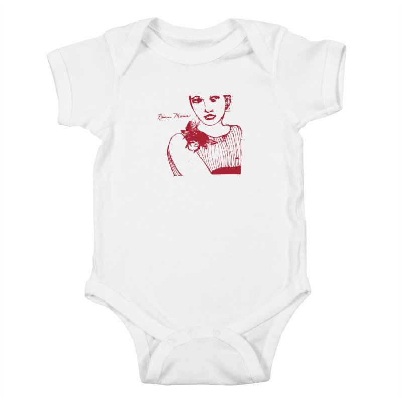 Rainer Maria - Long Knives Drawn Kids Baby Bodysuit by Polyvinyl Threadless Shop