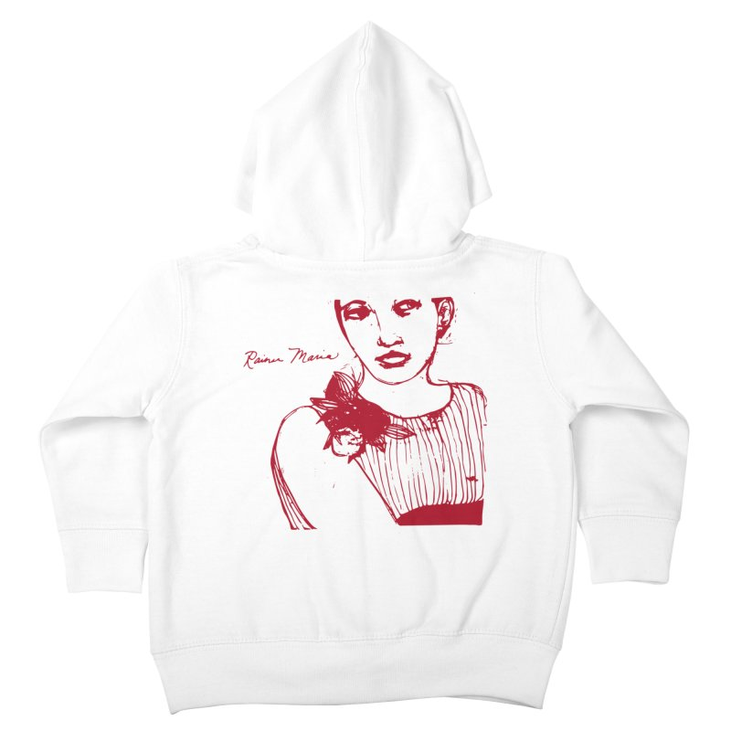 Rainer Maria - Long Knives Drawn Kids Toddler Zip-Up Hoody by Polyvinyl Threadless Shop