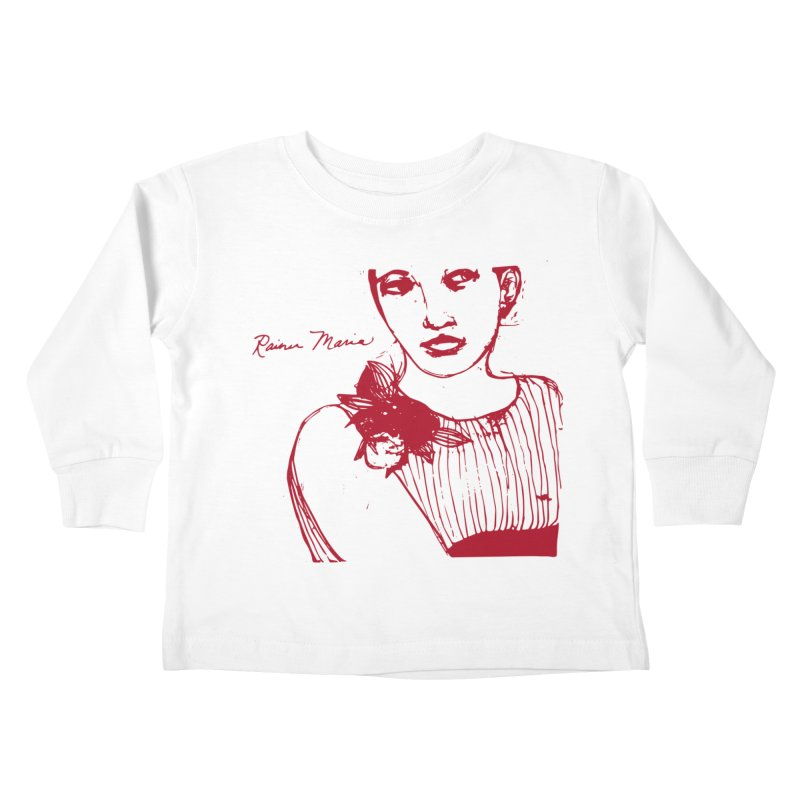 Rainer Maria - Long Knives Drawn Kids Toddler Longsleeve T-Shirt by Polyvinyl Threadless Shop