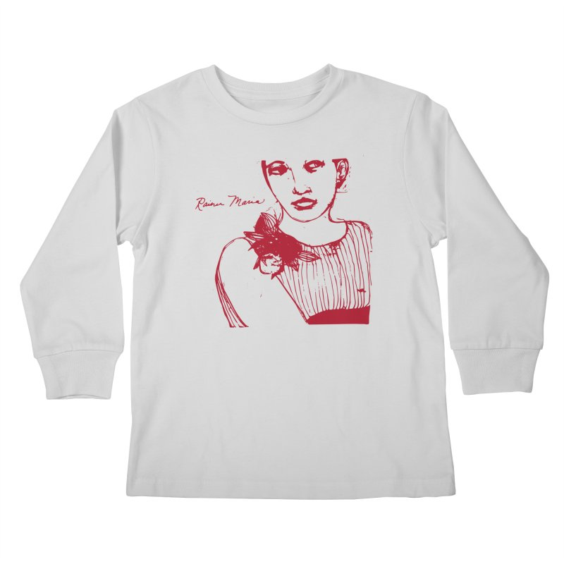 Rainer Maria - Long Knives Drawn Kids Longsleeve T-Shirt by Polyvinyl Threadless Shop