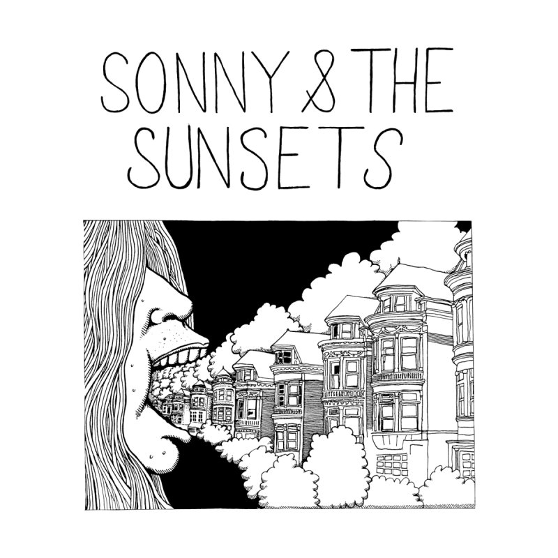 Sonny & The Sunsets x Ben Montero Collaboration Women's Scoop Neck by Polyvinyl Threadless Shop