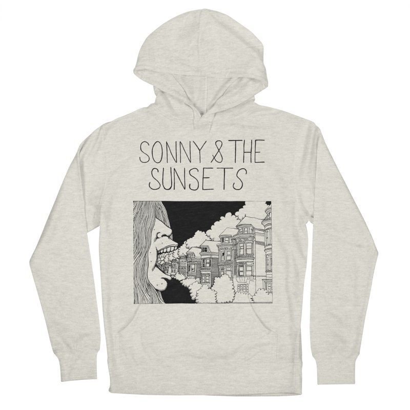 Sonny & The Sunsets x Ben Montero Collaboration Men's French Terry Pullover Hoody by Polyvinyl Threadless Shop