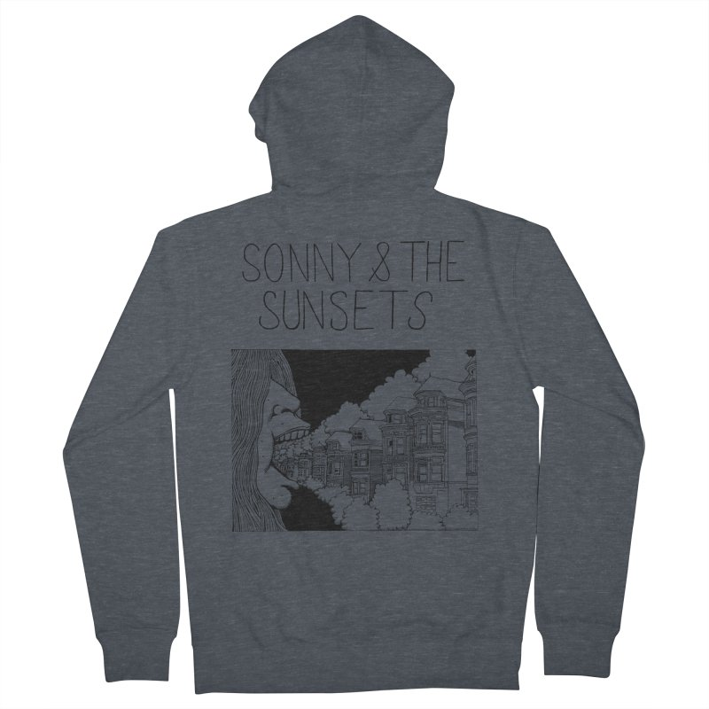 Sonny & The Sunsets x Ben Montero Collaboration Women's French Terry Zip-Up Hoody by Polyvinyl Threadless Shop