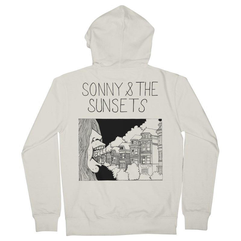 Sonny & The Sunsets x Ben Montero Collaboration Men's French Terry Zip-Up Hoody by Polyvinyl Threadless Shop