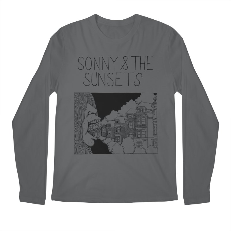 Sonny & The Sunsets x Ben Montero Collaboration Men's Regular Longsleeve T-Shirt by Polyvinyl Threadless Shop
