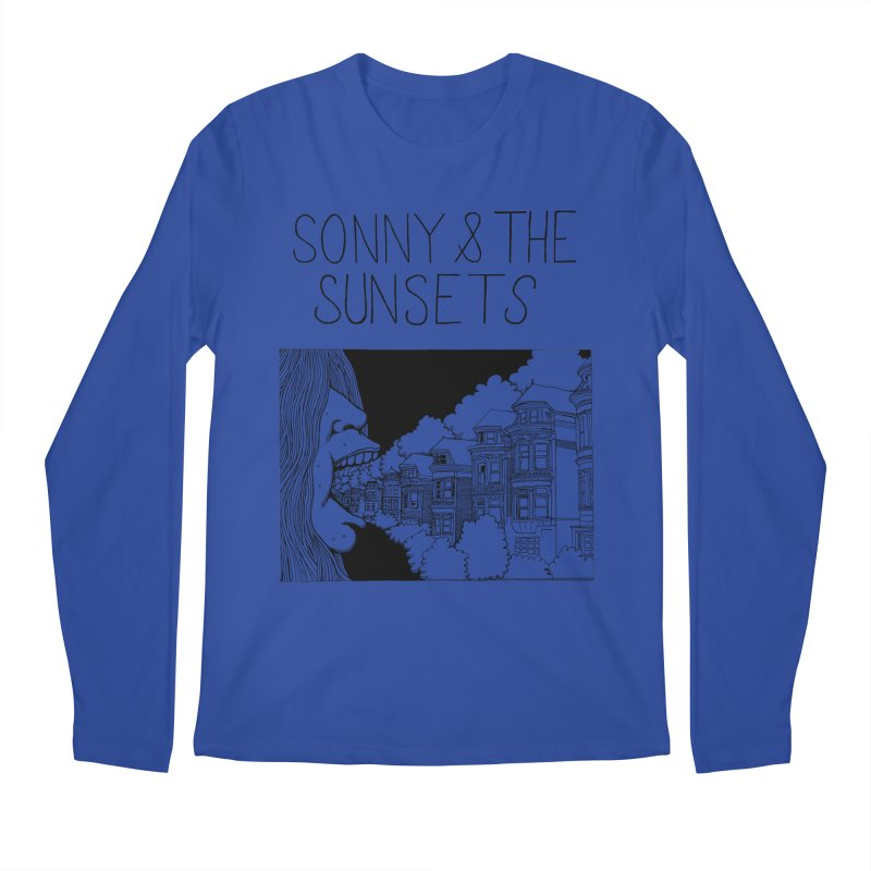 Sonny & The Sunsets x Ben Montero Collaboration Men's Regular Longsleeve T-Shirt by Polyvinyl Threadless Shop