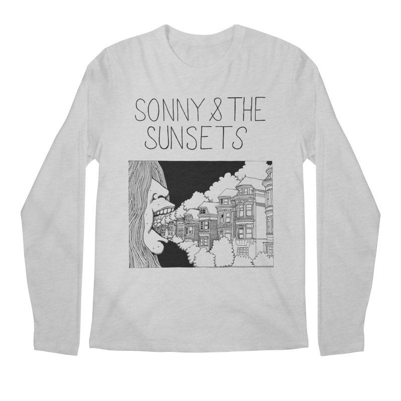 Sonny & The Sunsets x Ben Montero Collaboration Men's Longsleeve T-Shirt by Polyvinyl Threadless Shop