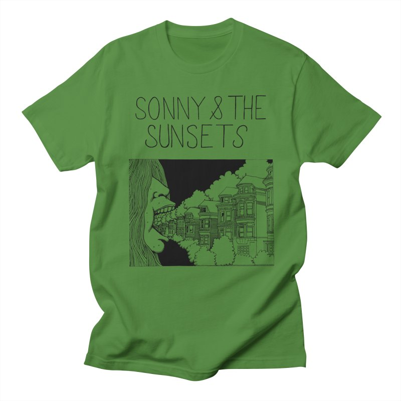 Sonny & The Sunsets x Ben Montero Collaboration Women's Regular Unisex T-Shirt by Polyvinyl Threadless Shop
