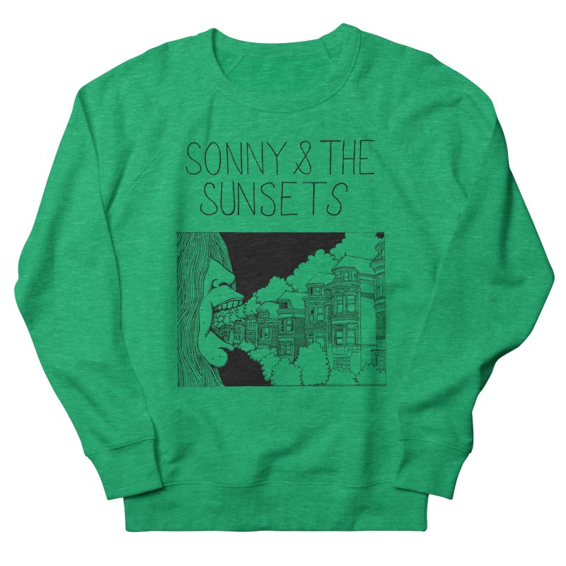 Sonny & The Sunsets x Ben Montero Collaboration Men's French Terry Sweatshirt by Polyvinyl Threadless Shop