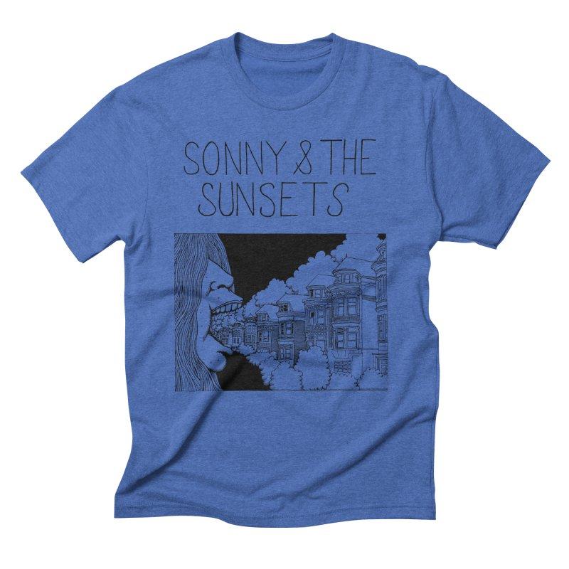 Sonny & The Sunsets x Ben Montero Collaboration Men's Triblend T-Shirt by Polyvinyl Threadless Shop