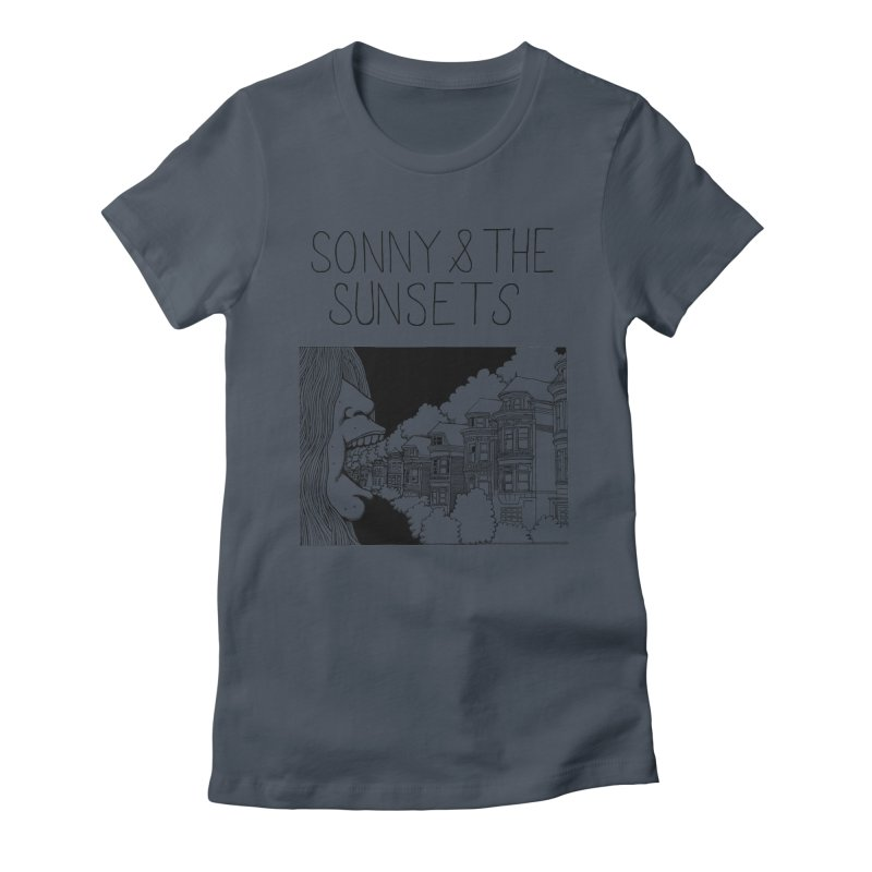 Sonny & The Sunsets x Ben Montero Collaboration Women's T-Shirt by Polyvinyl Threadless Shop