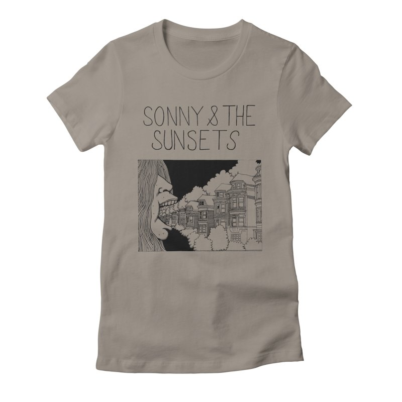 Sonny & The Sunsets x Ben Montero Collaboration Women's Fitted T-Shirt by Polyvinyl Threadless Shop