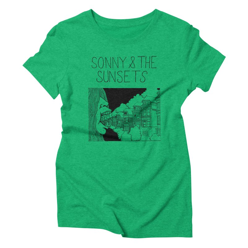 Sonny & The Sunsets x Ben Montero Collaboration Women's Triblend T-Shirt by Polyvinyl Threadless Shop
