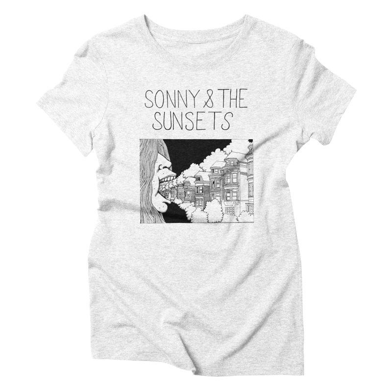 Sonny & The Sunsets x Ben Montero Collaboration Women's Triblend T-shirt by Polyvinyl Threadless Shop