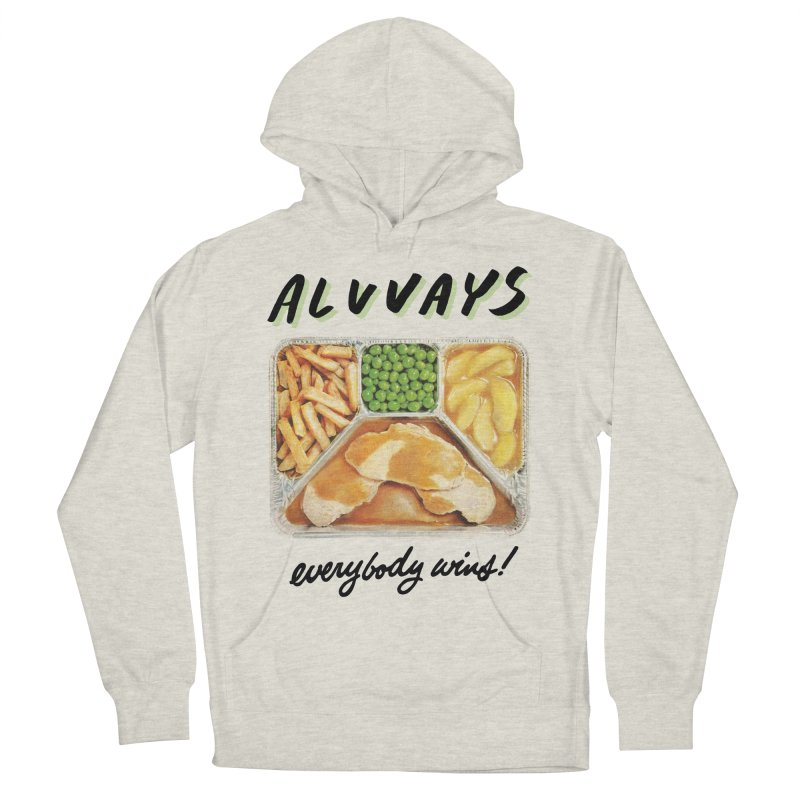 Alvvays - everybody wins! Men's French Terry Pullover Hoody by Polyvinyl Threadless Shop
