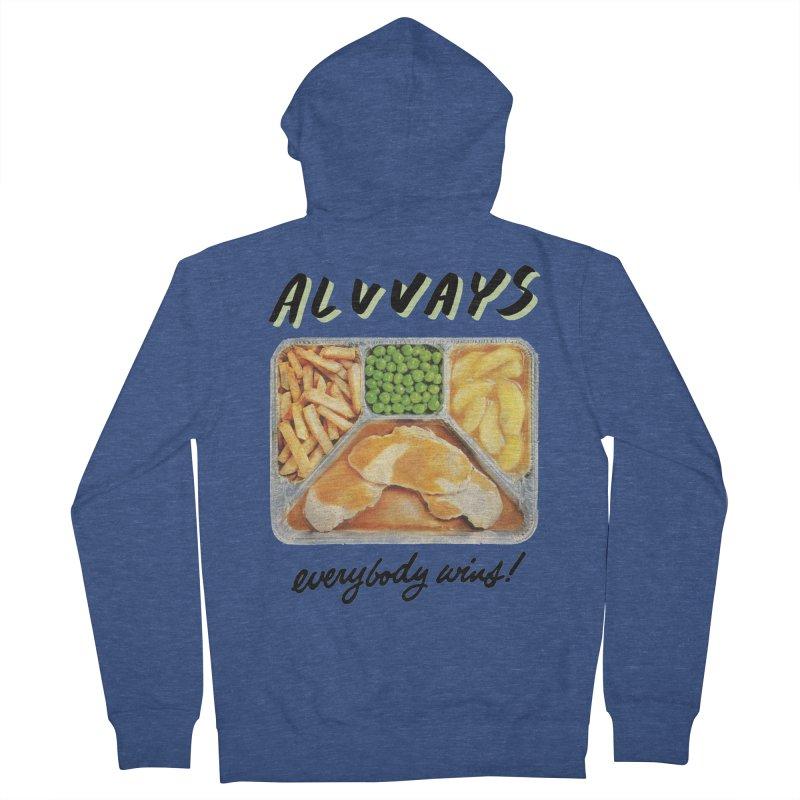 Alvvays - everybody wins! Women's Zip-Up Hoody by Polyvinyl Threadless Shop