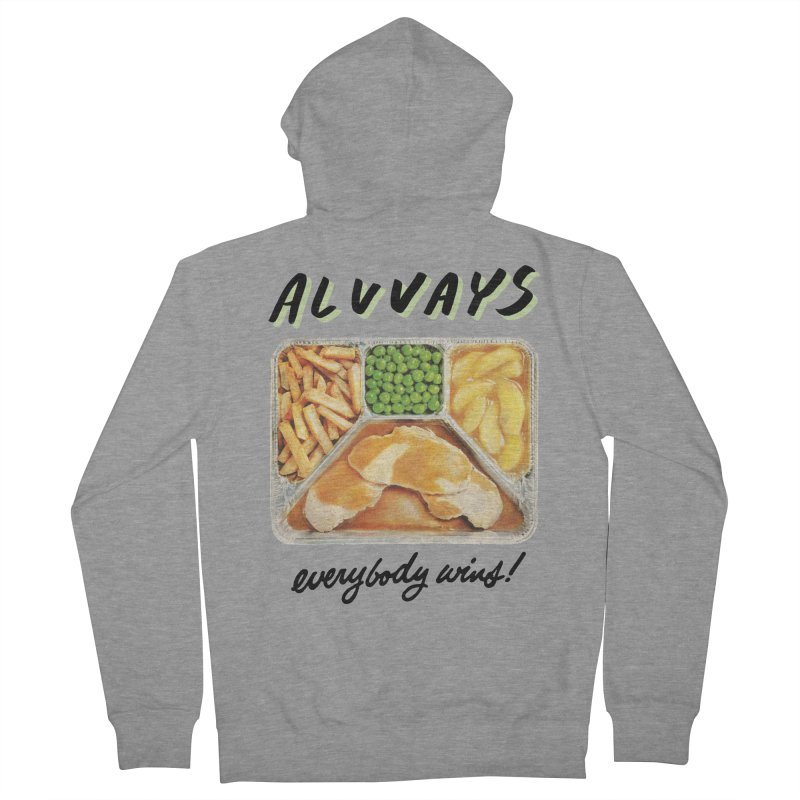 Alvvays - everybody wins! Women's French Terry Zip-Up Hoody by Polyvinyl Threadless Shop
