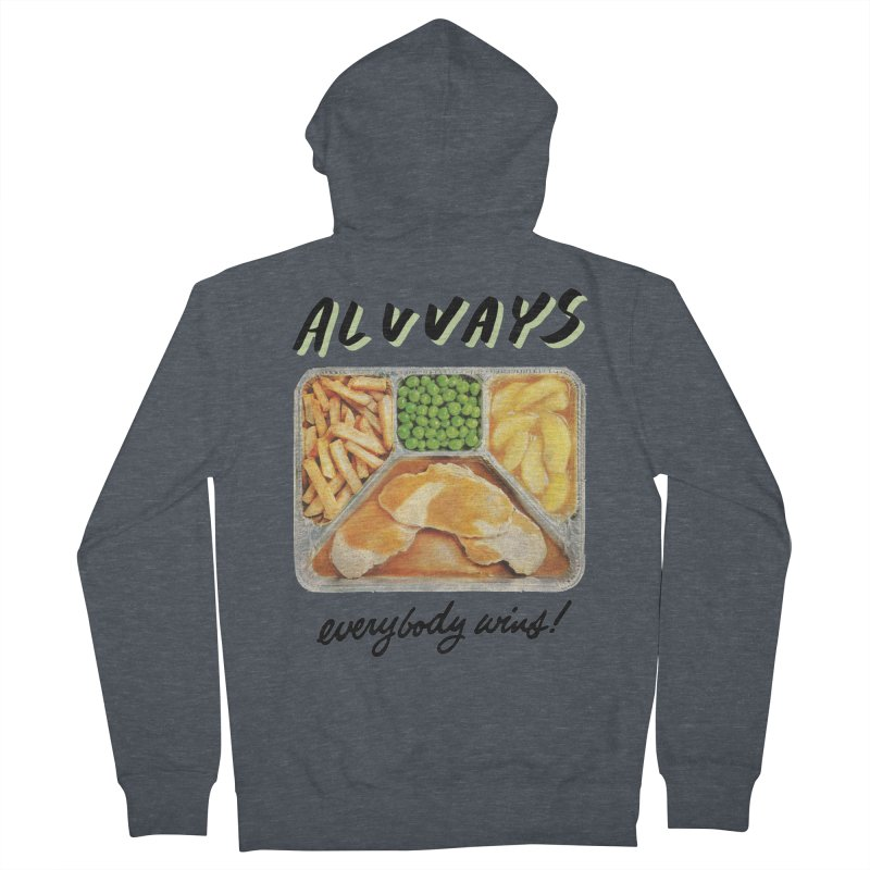 Alvvays - everybody wins! Men's French Terry Zip-Up Hoody by Polyvinyl Threadless Shop