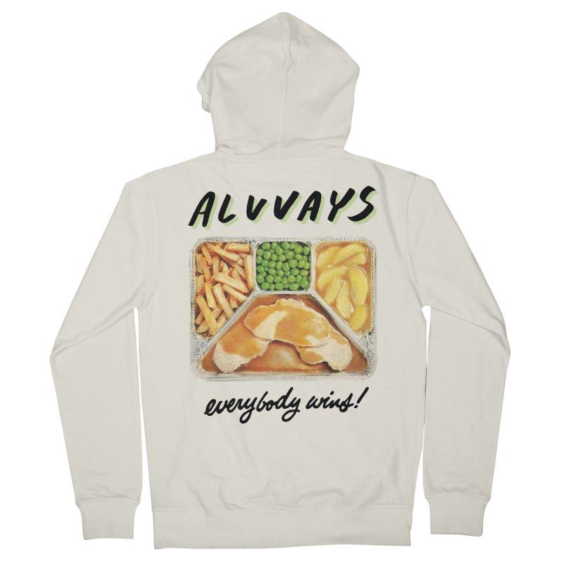 Alvvays - everybody wins! Men's Zip-Up Hoody by Polyvinyl Threadless Shop