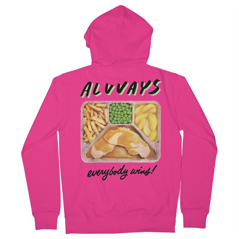 Alvvays - everybody wins! Men's Zip-Up Hoody by Polyvinyl Threadless Shop
