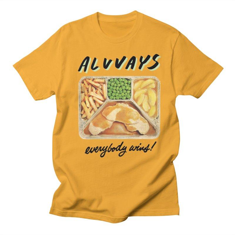 Alvvays - everybody wins! Women's Regular Unisex T-Shirt by Polyvinyl Threadless Shop