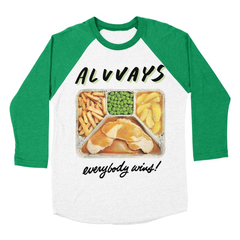 Alvvays - everybody wins! Women's Baseball Triblend T-Shirt by Polyvinyl Threadless Shop