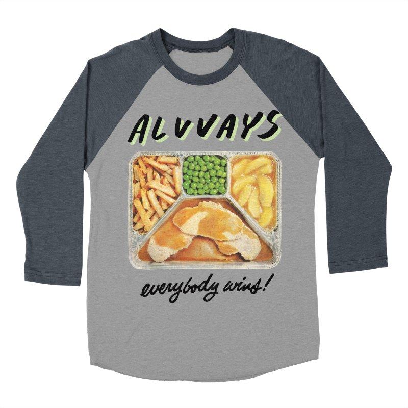 Alvvays - everybody wins! Men's Baseball Triblend Longsleeve T-Shirt by Polyvinyl Threadless Shop