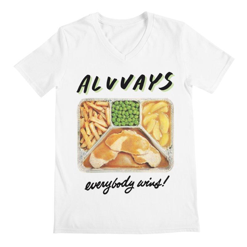 Alvvays - everybody wins! Men's V-Neck by Polyvinyl Threadless Shop
