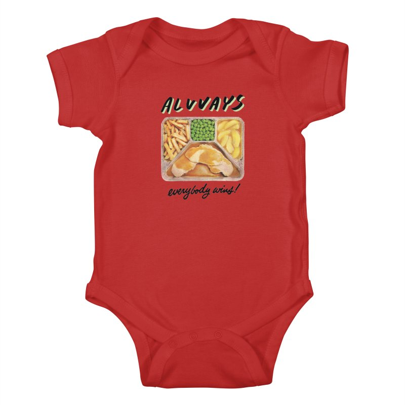 Alvvays - everybody wins! Kids Baby Bodysuit by Polyvinyl Threadless Shop