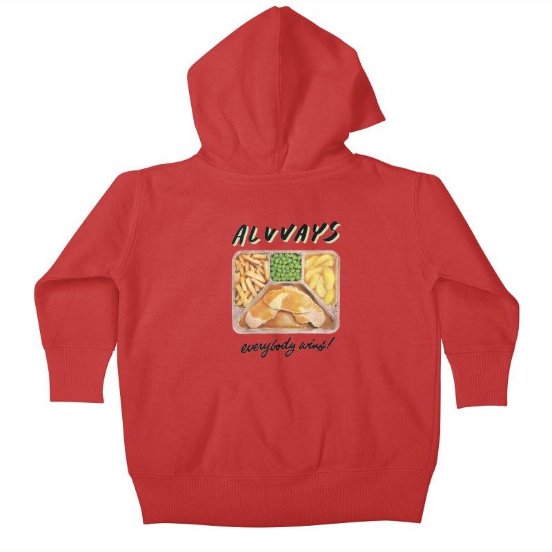 Alvvays - everybody wins! Kids Baby Zip-Up Hoody by Polyvinyl Threadless Shop