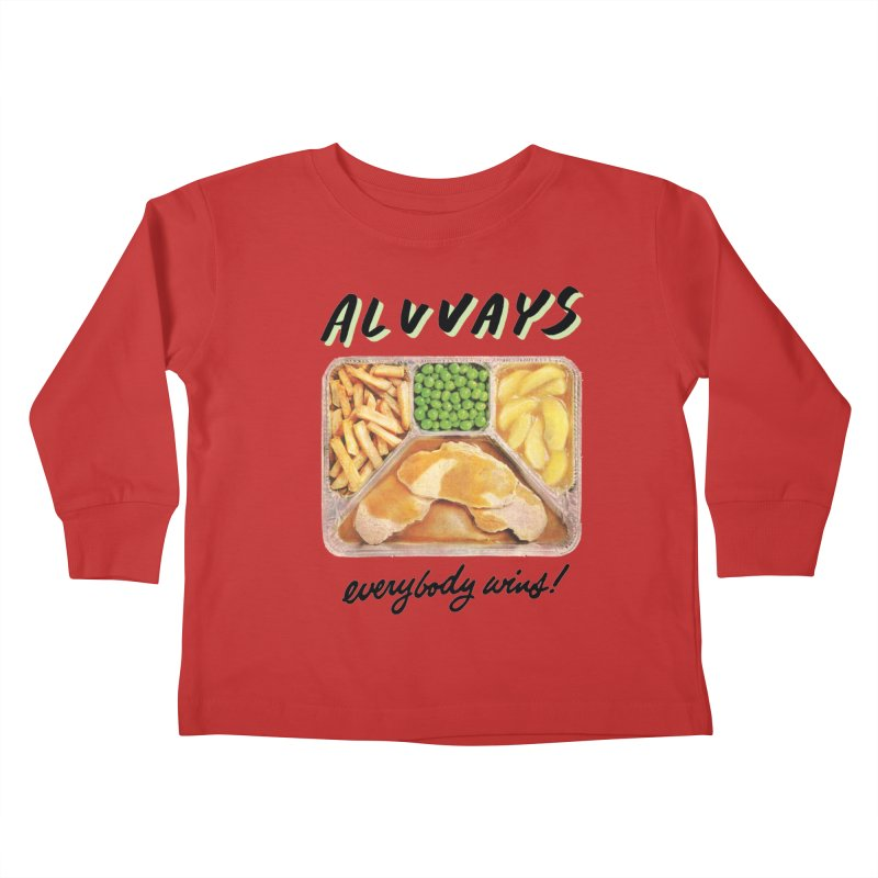Alvvays - everybody wins! Kids Toddler Longsleeve T-Shirt by Polyvinyl Threadless Shop